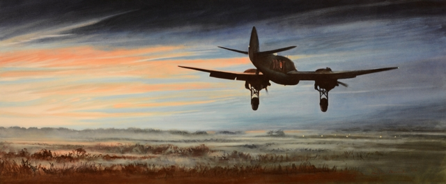 Beaufighter Dawn Landing at Fairwood Common_2