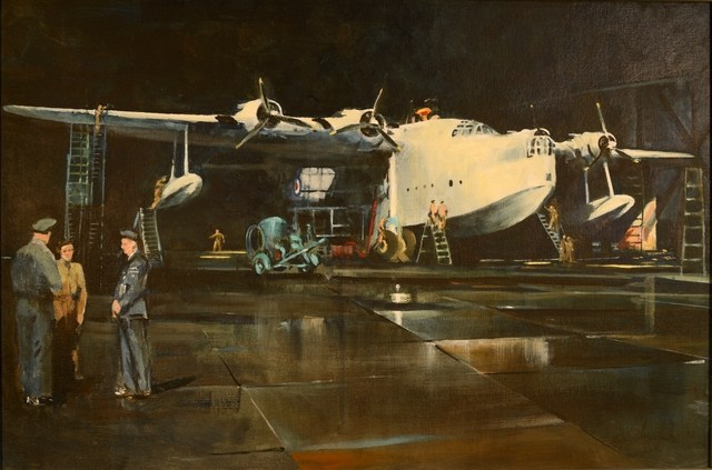 Sunderland in Hanger (with figures_2